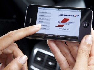 Poursuivre l&#039;exprience digitale dans les airs avec AirFrance-KLM