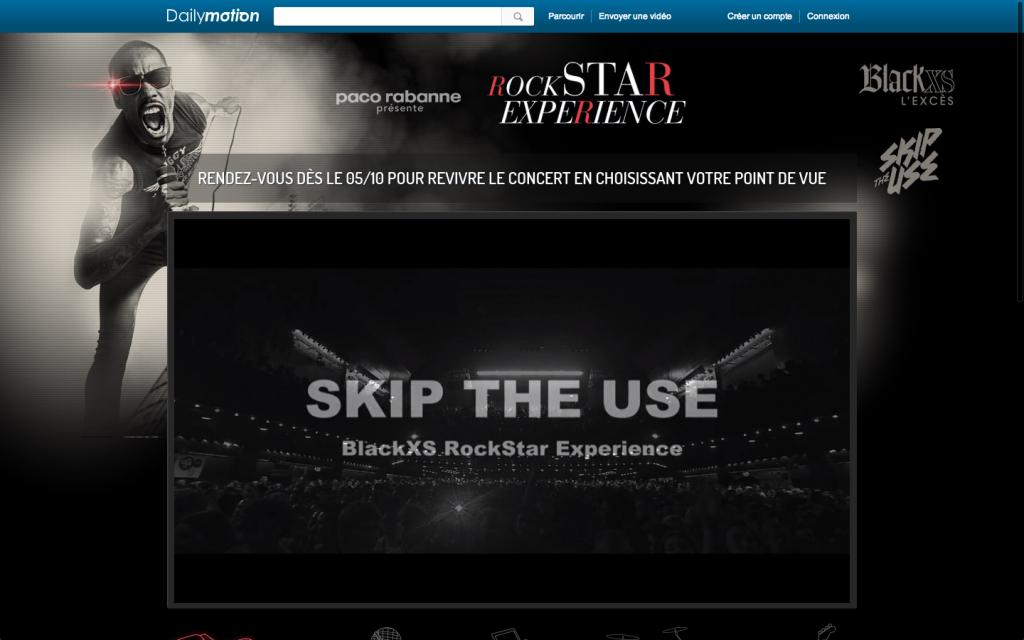 Paco Rabanne avec Dailymotion : Rockstar Experience