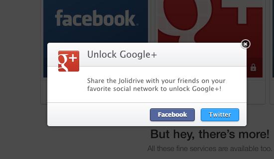 Partager sur les réseaux sociaux pour débloquer une app