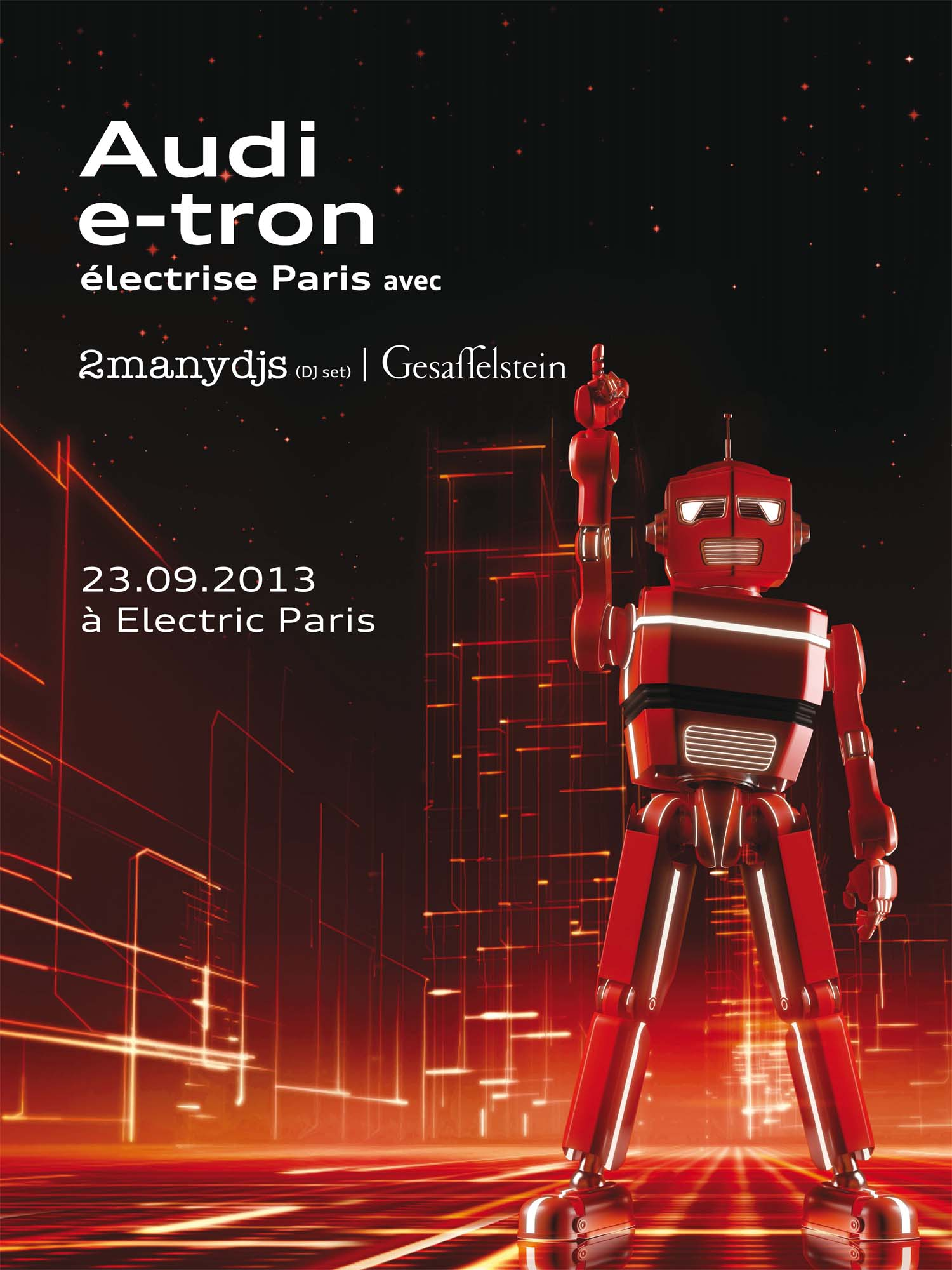 Audi e-tron à Electric Paris