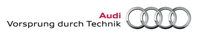L'identité visuelle d'Audi et son slogan