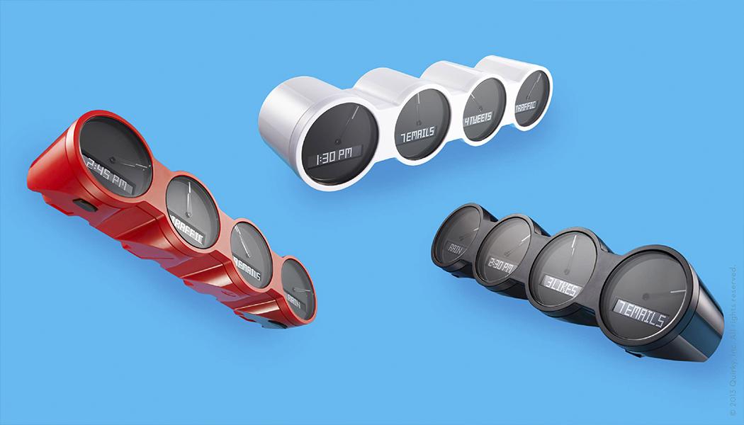 Nimbus, objet connecté bientôt disponible en rouge, blanc et noir.
