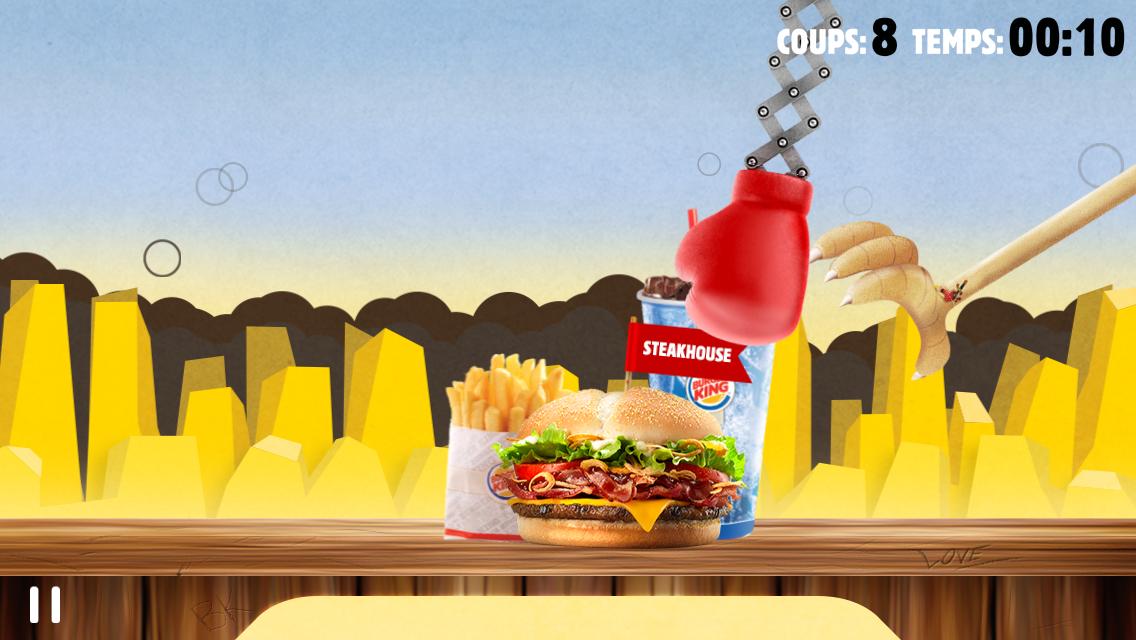 Protégez votre menu pour gagner un coupe-file Burger King !