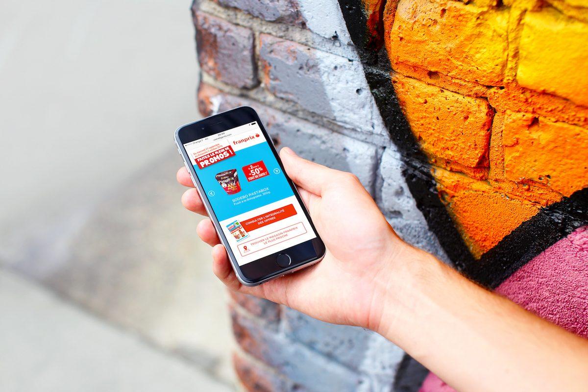 Franprix mise sur l'adtech et le web-to-store pour générer des ventes en magasin avec CapitalData