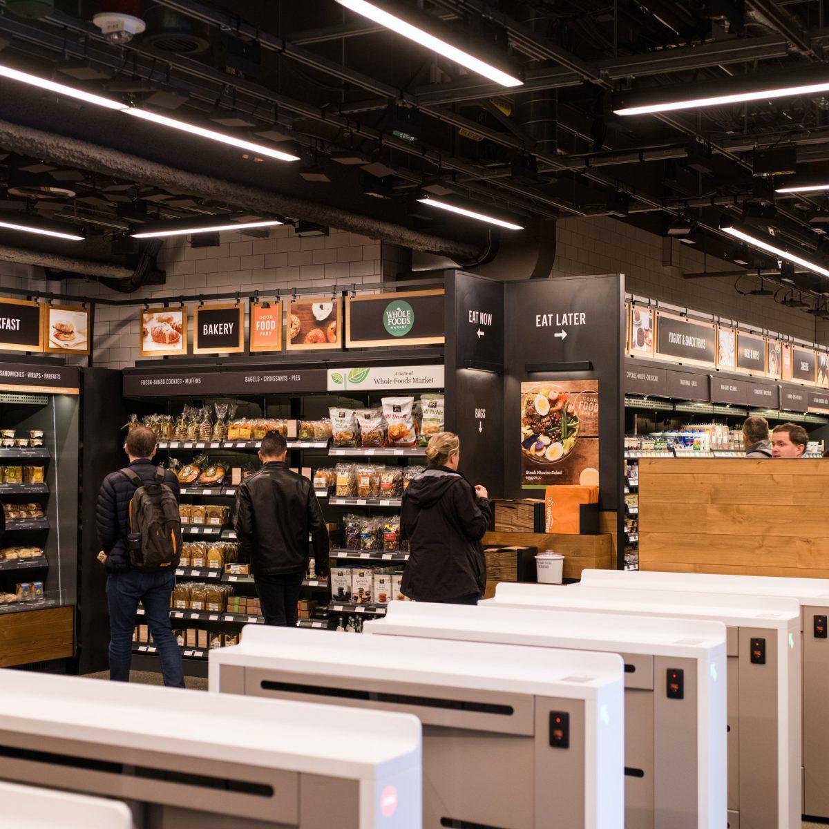 Photos : visite de l'épicerie du futur selon Amazon