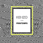 KENZO loves Printemps, dispositif mobile avec iBeacon